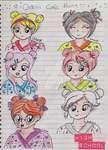 Charm Cafe-Buns Sketches by Animecolourful