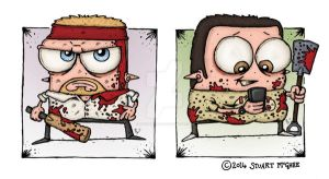 Shaun Of The Dead by stuartmcghee