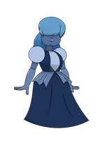Sapphire (Commission) by MrChaseComix
