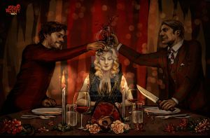 Hannibal: Dinner for Two by nowwheresmynut