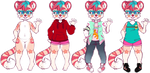 fraise outfits by irlnya