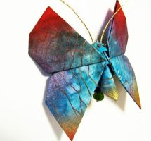 Fabric Origami Butterfly by Asianexpressions