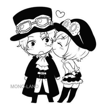 Sabo x Koala by MONO-Land