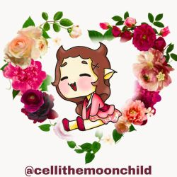 digital Version of Chibi Lilith  by cellithemoonchild