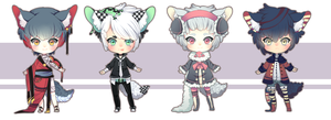 Fayd Adoptables [CLOSED] by Andreia-Chan