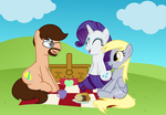 (Bronycon/Zip) A Picnic in the meadow by kuren247
