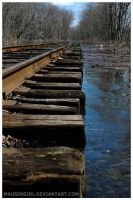 Railroad Tracks by MauserGirl