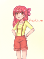 Applebloom by CosmicPonye