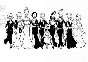 The DC Women by BevisMusson