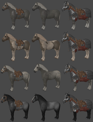 DAI Horse Pack XPS by Padme4000