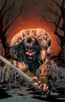 The Barbarous Conan by Deodato by RyanLord