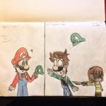 Mario meets Undertale (Genocide version) by Riyana2