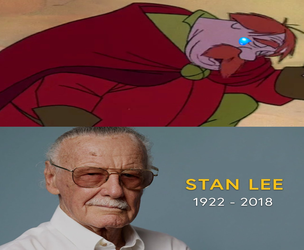 Ector mourns the passing of Stan 'The Man' Lee by Seville-Spain