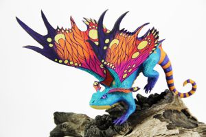 Brightwing Faerie Dragon (World of Warcraft) by ColibriWorkshop