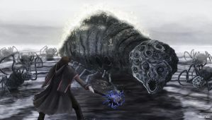 Bloodborne - Rom the Vacuous Spider by OniRuu