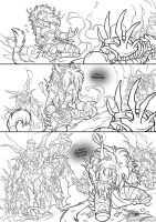 Drusera - Lineart Pg02 by Quarter-Virus