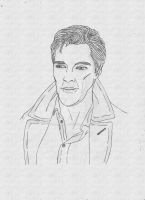 Benedict Cumberbatch by sudarshanarichie