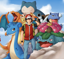 Pokemon: At Mt. Silver by ozamham