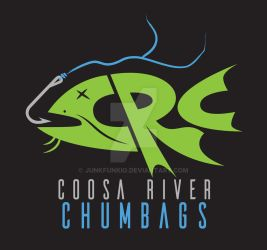 Coosa River Chumbags Logo by junkfunkio
