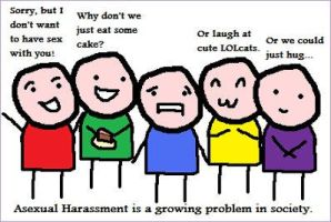 Asexual Harassment by eviltogepi