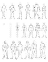 Drawing Practice Sheet 3 by Obhan