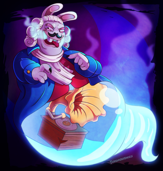 Mario + Rabbids - The Phantom of the Bwahpra by Turquoisephoenix