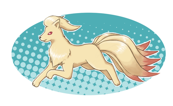 Prize: Ninetales by Mizzi-Cat