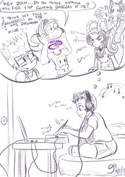 One Last Sketch For The Road by MinionKing