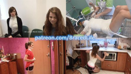 Sara Scoliosis Treatment Part I by MedicBrace