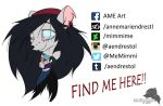 FIND ME HERE!! by MimmiMe