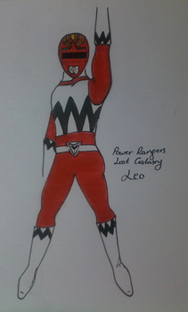 Leo-Red Ranger by Sketchy-101