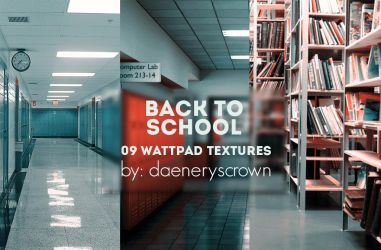 Texture Pack #06 - Back To School by daeneryscrown
