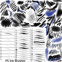 Ink PS Brushes by Dark-Zeblock