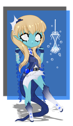 Vaporeon Soul Collector Adopt [Closed] by Marushi-Dracul