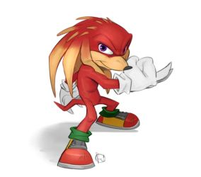 Knuckles by furry-bob