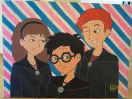 HP Pop Trio painting by uh-oh