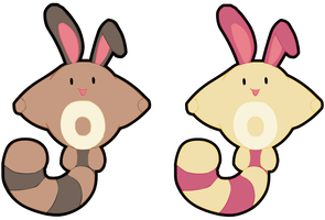 Sentret and Shiny Sentret!