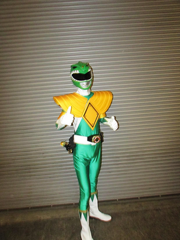 Green Ranger - Montreal Comic Con 2017 by J25TheArcKing