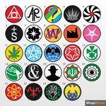 (SCP) Simplistic Group of Interest Logos by MingoMongo