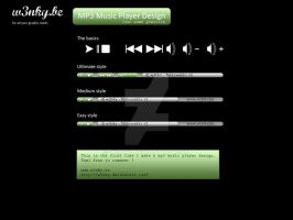 MP3 Player by w3nky