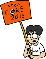 STOP CORE! by Lolwutburger