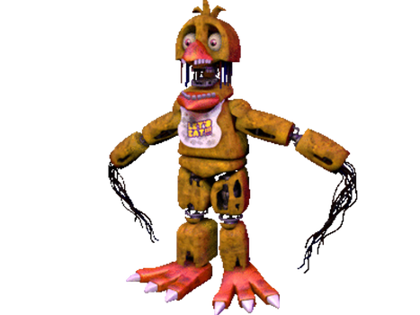 TEST 360 Old Chica by 666TheFoxGamer666