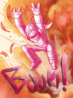 Bombert BOOM OUT! by Rhay-Robotnik