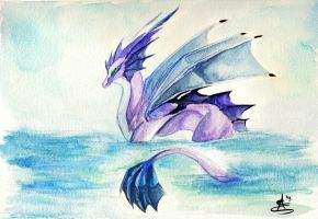 Swimming Lazily by LadyBD