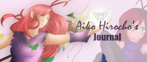 Aiko's journal Banner by Aiko-Hirocho