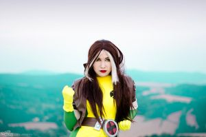 Rogue cosplay X-men by Lirbis by Hikarux33