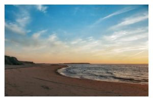 dusk in PEI by Tachy-on
