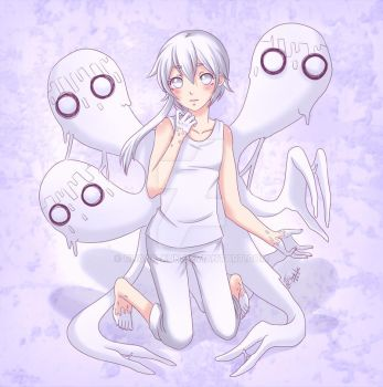 Sak and the White Nightmares by Chaak-kun