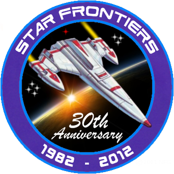 Star Frontiers 30th Anniversary Logo by dagorym