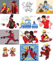 Hat fortress 2 by NuclearBandaid